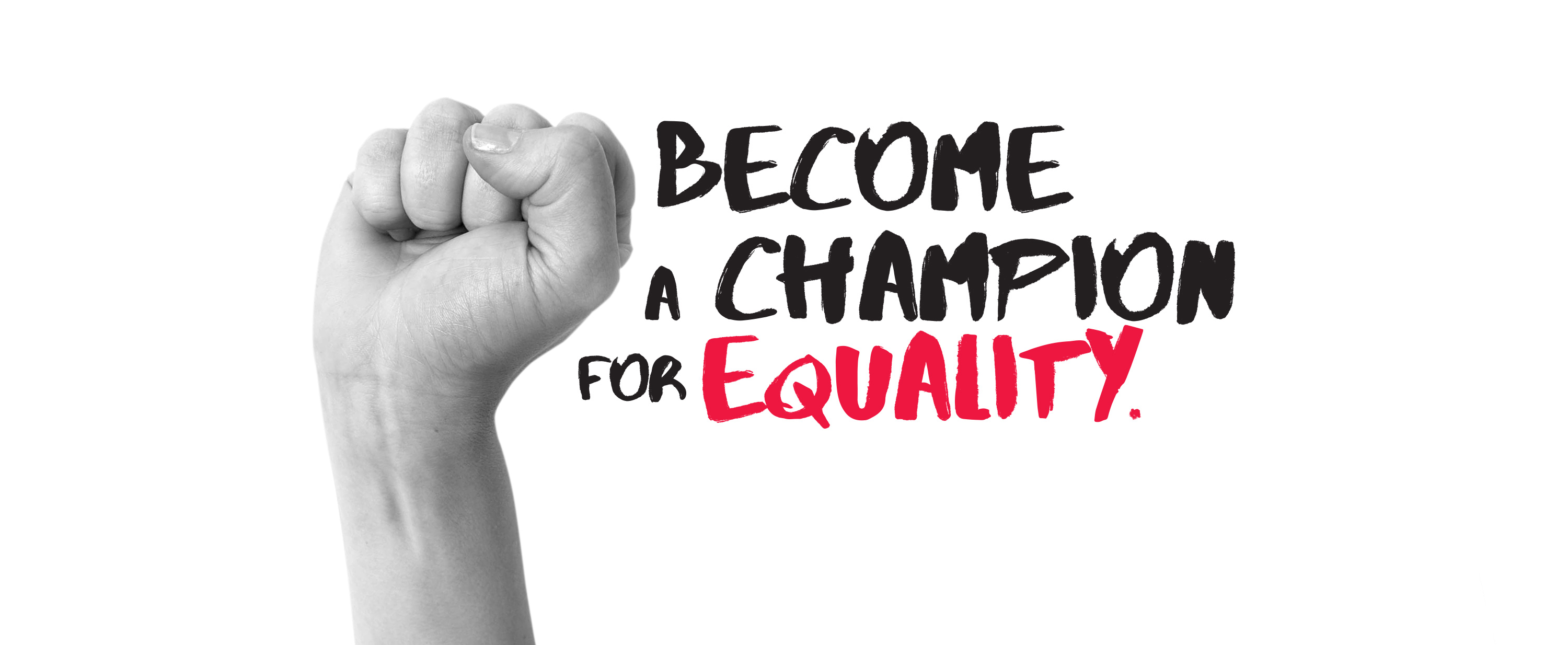 Become a champion for equality